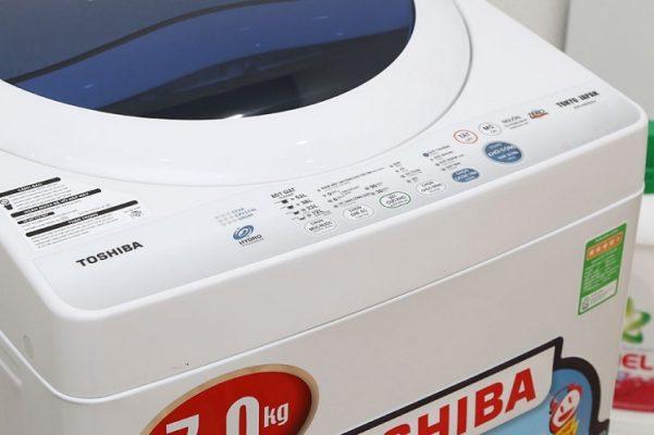 Máy giặt Toshiba lỗi