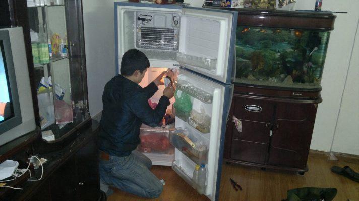 sửa tủ lạnh toshiba