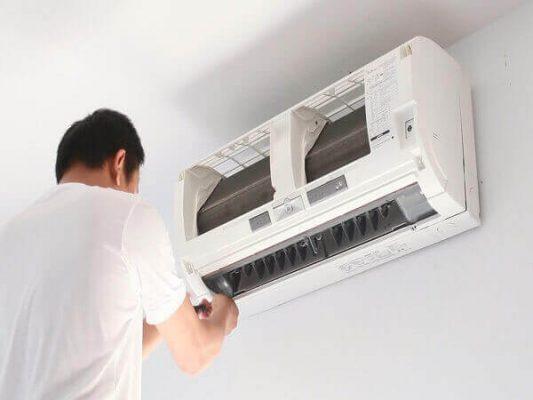 sửa chữa máy lạnh lái thiêu