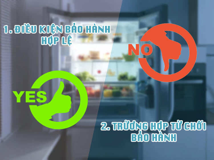 chính sách bảo hành tủ lạnh ở quận bình thạnh