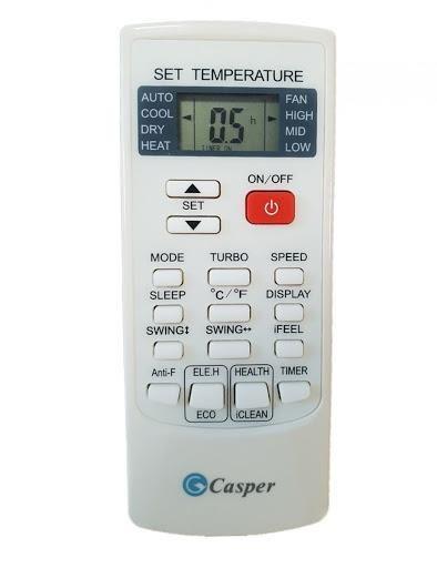 Hướng Dẫn Sử Dụng Remote Máy Lạnh Casper Đơn Giản Chi Tiết