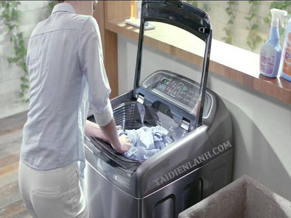 máy giặt bị rung lắc mạnh