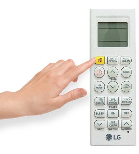 cách sử dụng remote máy lạnh lg