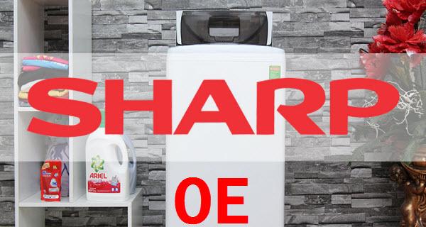 mã lỗi máy giặt sharp
