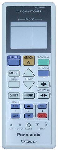 cách sử dụng remote máy lạnh panasonic