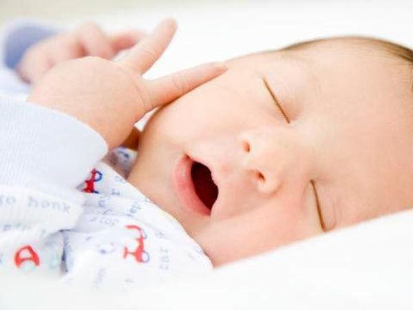 quy tắc cho trẻ sơ sinh nằm điều hòa